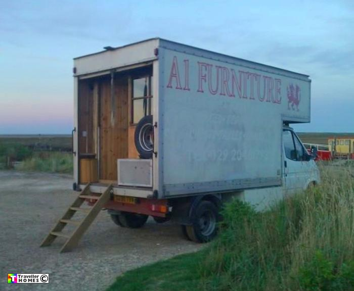 Giles Ex Furniture Lorry 2013 Traveller Homes