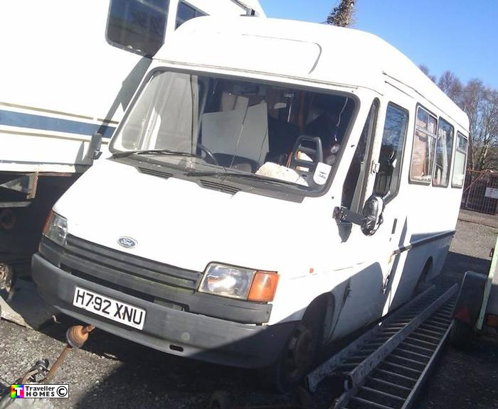 h792xnu,ford,transit