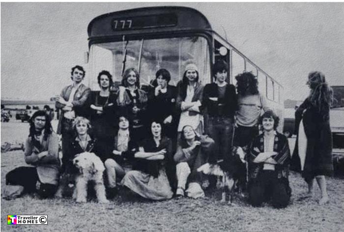 Leyland Leopard tour bus