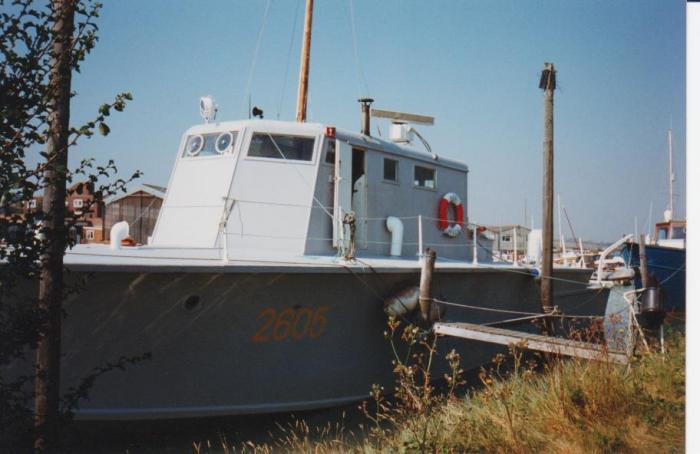 air sea rescue launch, sussex