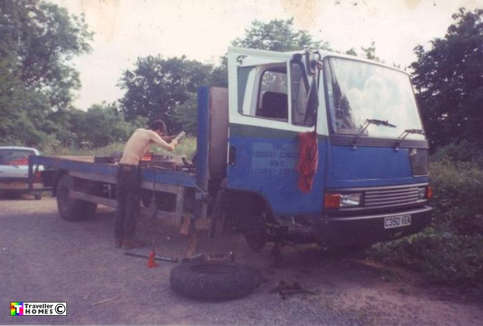c350vea,leyland daf,roadrunner